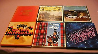 Job Lot of 6 Readers Digest 12' Vinyl Box Sets Record/L.P. s