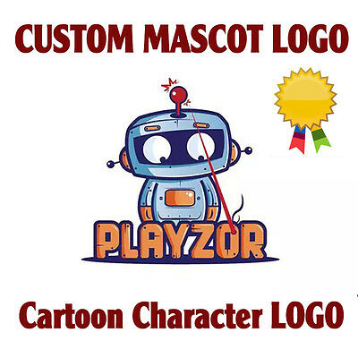 PROFESSIONAL Custom Logo Design | Mascot or Cartoon Character design | Graphics