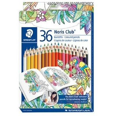 Staedtler Buntstift Noris Club, Farbstifte, Johanna Basford Edition, 36er Etui