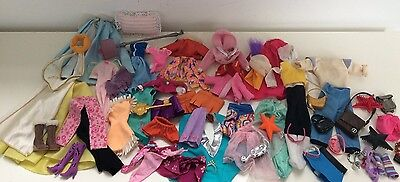 Huge Job Lot Mixed Bundle Various Dolls Clothing For Barbie Or Similar Doll