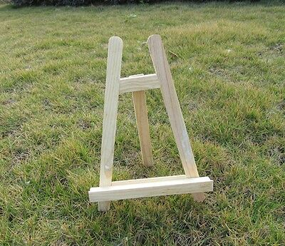 1X New Mini Wooden Table Top Professional Easel 27cm High
