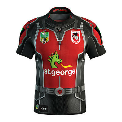 St George Dragons ISC 2017 NRL Antman Marvel Jersey Adults, Ladies & Kids Sizes!