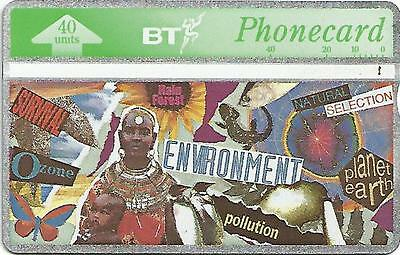 Phonecard BT - ENVIRONMENT - 40 Units - Excellent Condition