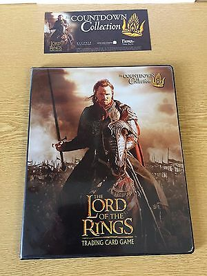 Lord of the Rings TCG  The Countdown Promo Collection 23 cards in Folder