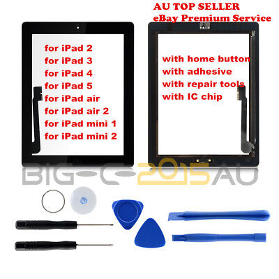For iPad 2 3 4 air 1 2 mini 1 2 Touch Screen Digitizer Display Replacement Kits