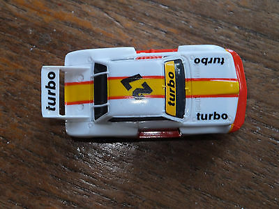 AFX-Tomy BMW, w. LIGHTS, REBUILT CHASSIS, exc. condition Aurora Tyco micro HO