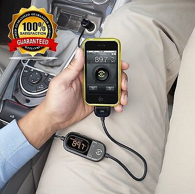 Belkin In Car Tunecast Auto Live FM Transmitter Charge and Play for iPhone 4 4s