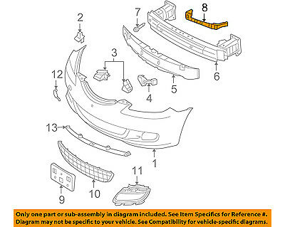 NI1066140 Front Left Side Bumper Mounting Bracket Steel Fits 09-14 Cube NSF