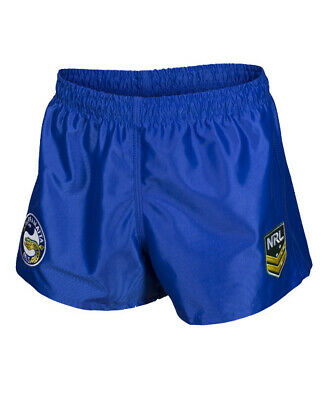 Parramatta Eels NRL 2019 Home Supporters Shorts Adult & Kid Sizes!
