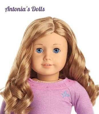 NEW AMERICAN GIRL TRULY ME 33 Doll Light Skin Curly Light Red Hair NEW NIB