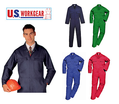 Portwest Men's Euro Work Coverall Overall Boilersuit Mechanic, Protective S999
