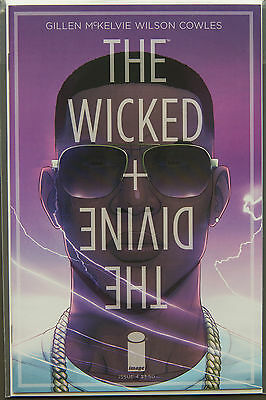 THE WICKED + THE DIVINE #4 (2014) FIRST Printing - Image Comics NM Bag&Boarded
