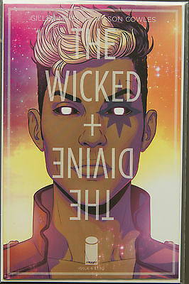 THE WICKED + THE DIVINE #6 (2014) FIRST Printing - Image Comics NM Bag&Boarded