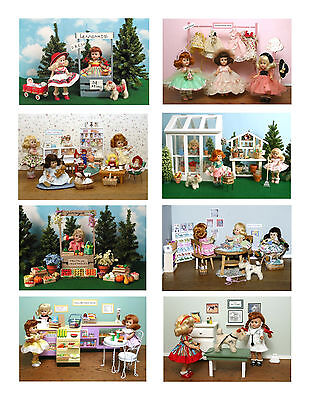 Vintage Ginny Doll 'Ginny a Working Girl' Greeting Cards
