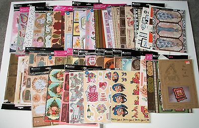 50 x Kanban, Buzz Craft, Hunkydory Topper Sheets (Huge Clearout)