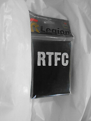 Legion RTFC deck sleeves for standard size cards. Green. 50 pack.