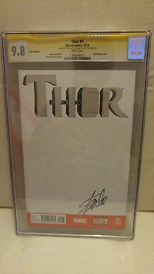 CGC 9.8 Thor #1 Signed by Stan Lee