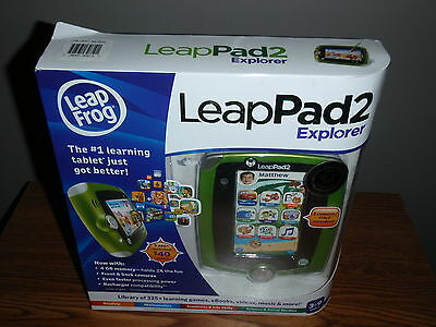 Leap Frog LeapPad2 Explorer Kids' Learning Tablet NEW Leap Pad 2