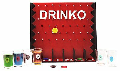 NEW Original DRINKO Shot Adult Party Drinking Alcohol Game College Beer Liquor