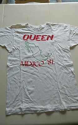 1981 Queen Mexico Tour Concert Shirt