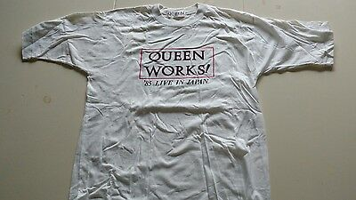 1985 Queen Japan Tour Concert Shirt