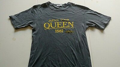 1981 Queen Japan Tour Concert Shirt