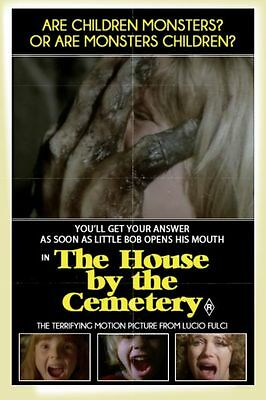 "Set Of 8 Lucio Fulci Horror Poster 6"" x 4"" Photo Prints  House By The Cemetery"