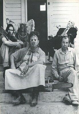 "Set Of 4 Texas Chainsaw Massacre 7"" x 5"" Photo Prints  Leatherface  Tobe Hooper"