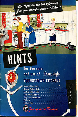 1954 Youngstown Kitchens Hints Diana Style, Scottish Terrier