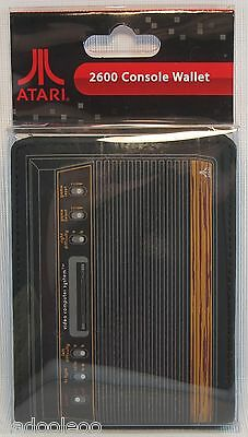 Atari 2600 Console Wallet Woodgrain Official Licensed Product Genuine Numskull