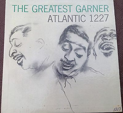 ERROLL GARNER TRIO 'The Greatest Garner' Atlantic US LP