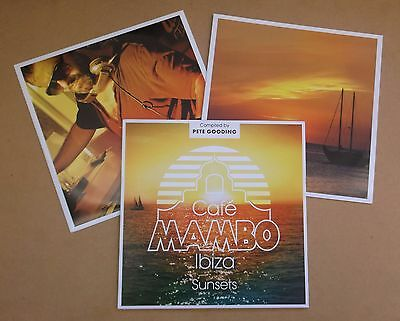 Cafe Mambo Ibiza Sunsets UK vinyl 2-LP Incognito Timmy Thomas David Bowie