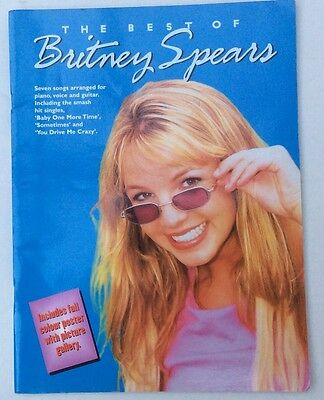 Britney Spears 7 Songs Arranged For Piano, Voice And Guitar UK Sheet Music