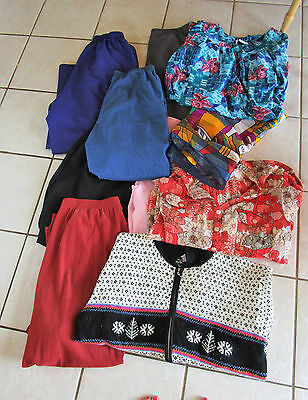 Lot of 40 Mixed Womens Plus Size Brand Name Clothes Clothing 2X 18 Lots Of Pants