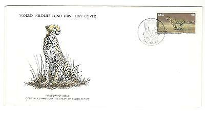 Rsa Fdc 1978 Cat Stamps The Cheetah Wwf Rsa Stamps Africa Stamps Topical Stamps