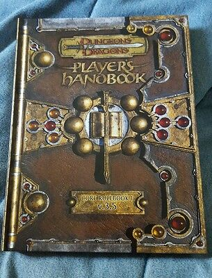 Dungeons & Dragons Player's Handbook hardcover core rulebook v 3.5