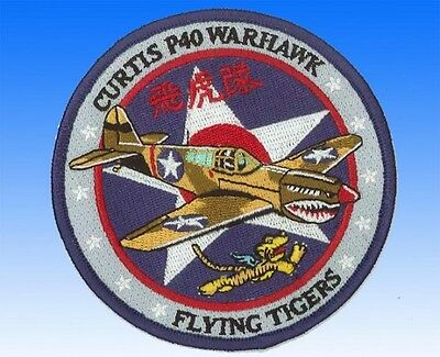 Patch Curtis P-40 Warhawk Flying Tigers