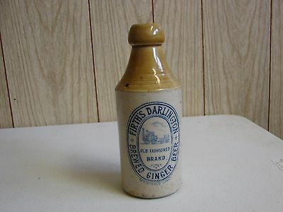 Rare Firth's Darlinfton Ginger stoneware beer Bottle