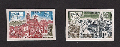 France Europa MNH Mint Imperf Imperforated sc 1534-1535