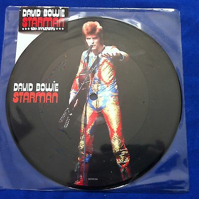 David Bowie - Starman Rsd Picture Disc Vinyl Single - Sealed