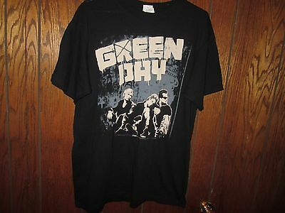 Men's Anvil Green Day 2009 Tour Concert T-Shirt Large Euc