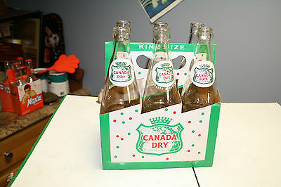 vintage canada dry six pack