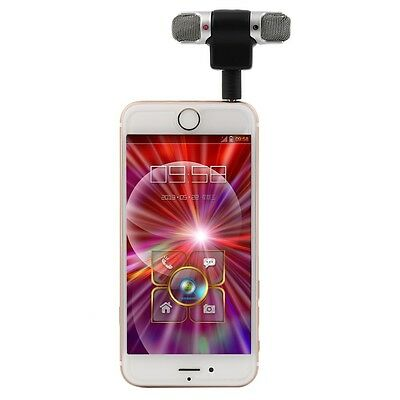 Portable Mini Mic Digital Stereo Microphone for Recorder Mobile Smart Phone