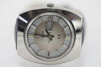 Estate Vintage Retro Rado N19 Swiss Made Automatic Day-Date Dial Watch