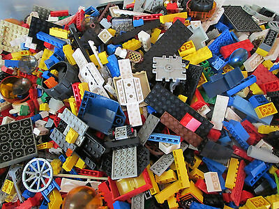 Used Lego Mixed 25 lbs  Unsorted Lot of Bricks and Pieces