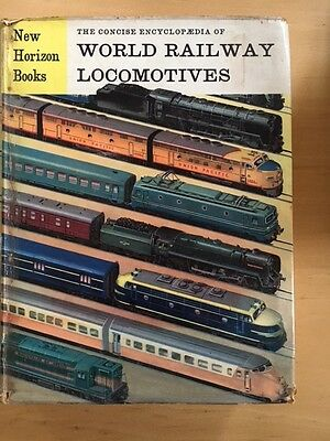 The Concise Encyclopedia Of World Railway Locomotives Hard Cover Free Postage
