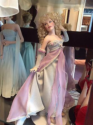 "Franklin Mint ""The Passion Of Cinderella Doll"""