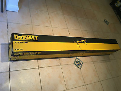 Dewalt DWX723-XE Mitre Saw Stand.  New, boxed.