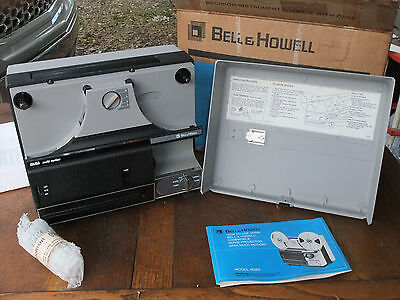 Bell & Howell 1638Z 8mm Movie Projector w/ Box Used 1 Time