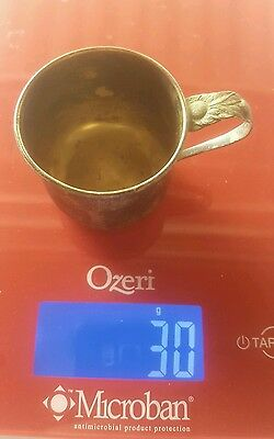 Vintage Sterling Silver RLB #551 Baby Cup Rogers Lunt Bowlen